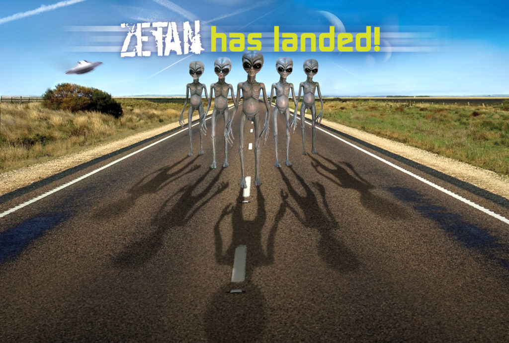 Zetan has landed